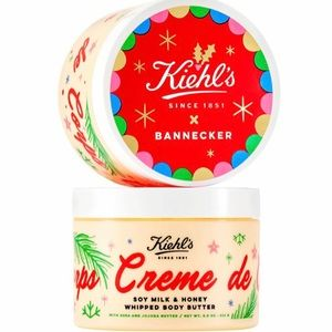 Kiehl's Creme de Corps Body Butter With Gift Box